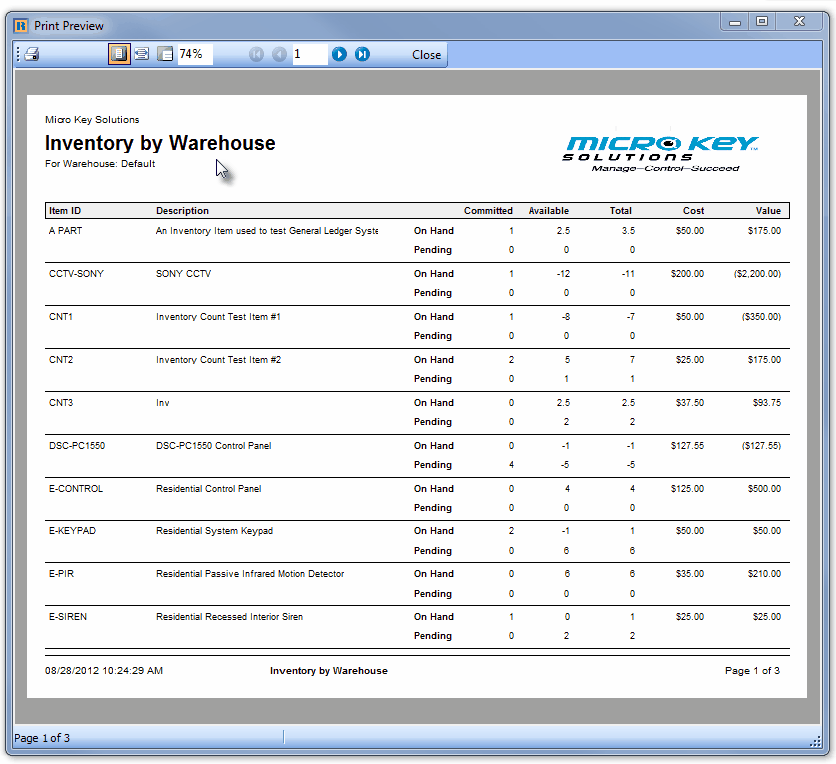 HelpFilesInventoryByWarehouseReport